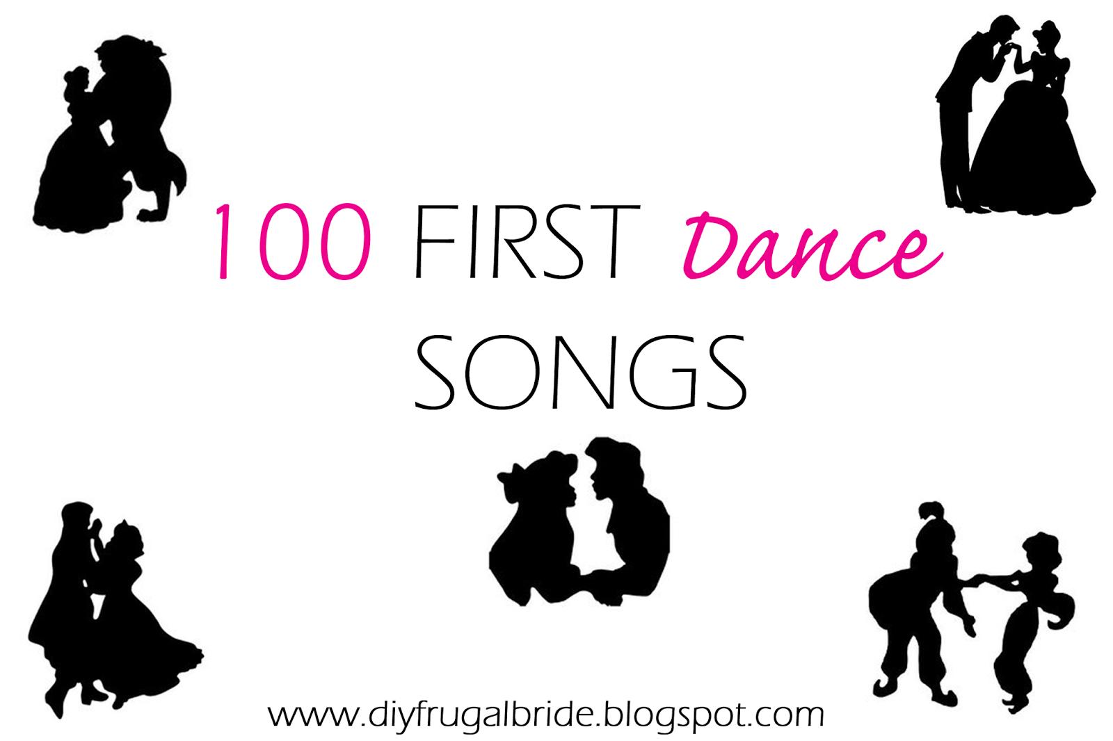 Sleepless In DIY Bride Country : 100 First Dance Songs