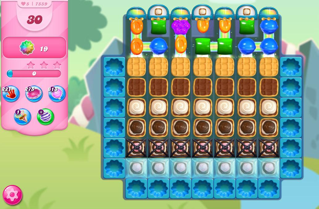 Candy Crush Saga level 7559