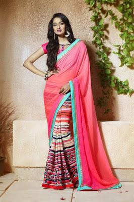 Super-Soft-Designer-Tussar-Silk-Printed--Sarees