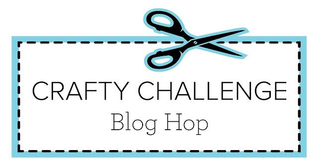 Crafty Challenge Blog Hop Banner | Nature's INKspirations by Angie McKenzie