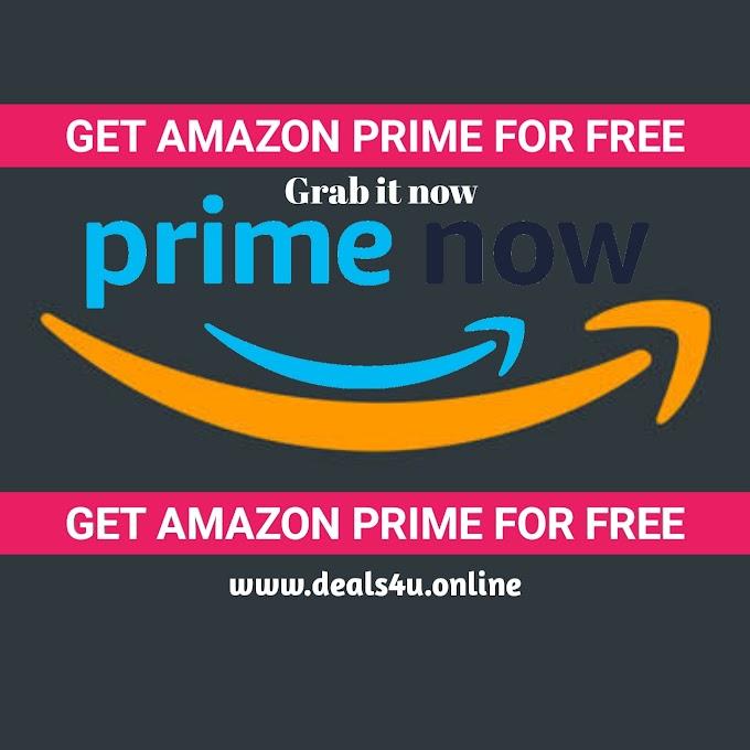 Get Amazon Prime Free : How To Get Amazon Prime For Free