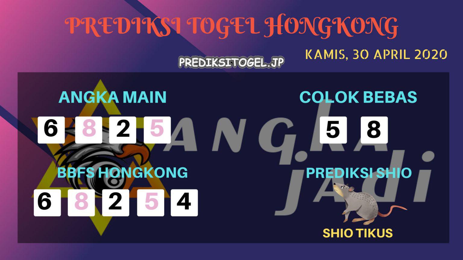 Prediksi HK 30 April 2020 - Prediksi Angka HK