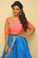 Nithya Shetty in Orange Choli at Kalamandir Foundation 7th anniversary Celebrations ~  Actress Galleries 004.JPG