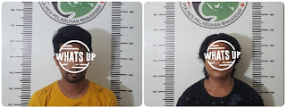 Satnarkoba Polres Pelabuhan Makassar Ciduk 2 Pelaku Narkoba di Satando