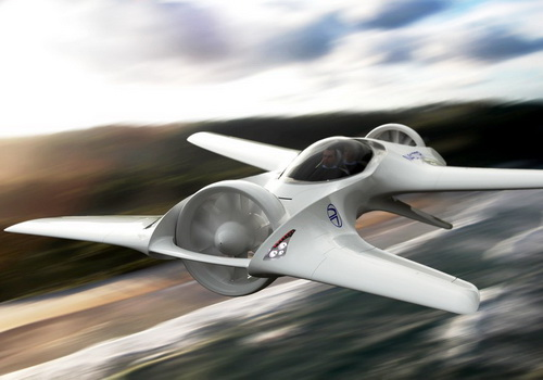 Tinuku DeLorean Aerospace builds DR-7 VTOL flying car