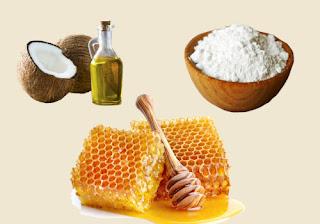 Coconut Oil, Baking Soda, and Honey