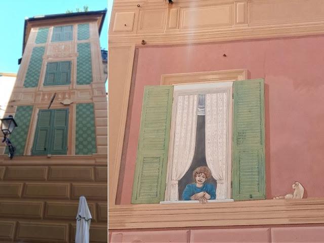 trompe-l'œil edifici Varazza
