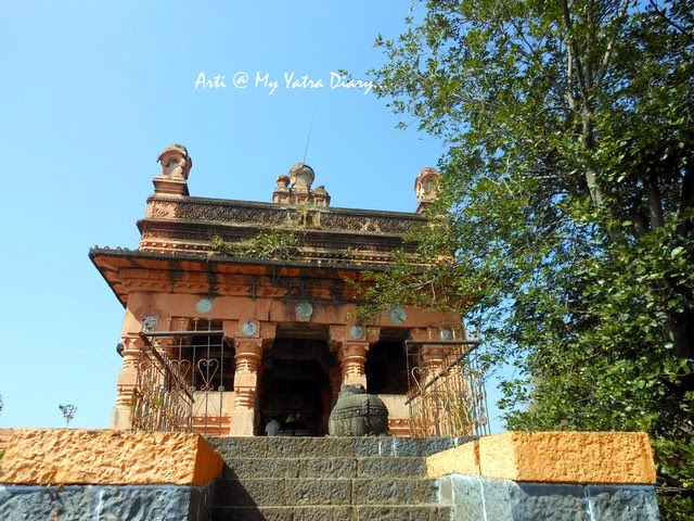 The ancient Sangameshwar Shiva Temple, Saswad, Pune