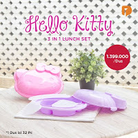 Dusdusan Hello Kitty 3 In 1 Lunch Set ANDHIMIND