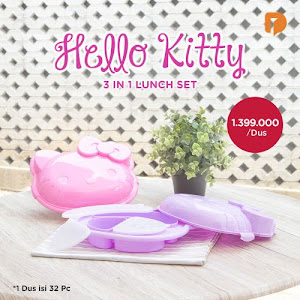 Hello Kitty 3 In 1 Lunch Set