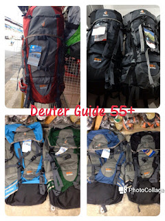 Beg Deuter Guide 55+