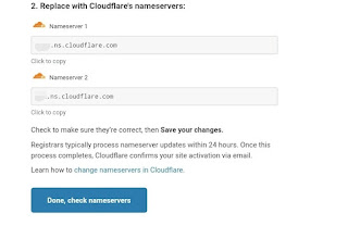 Cara seting dns cloudflare