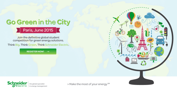 Schneider Electric: Go Green in the City 2015
