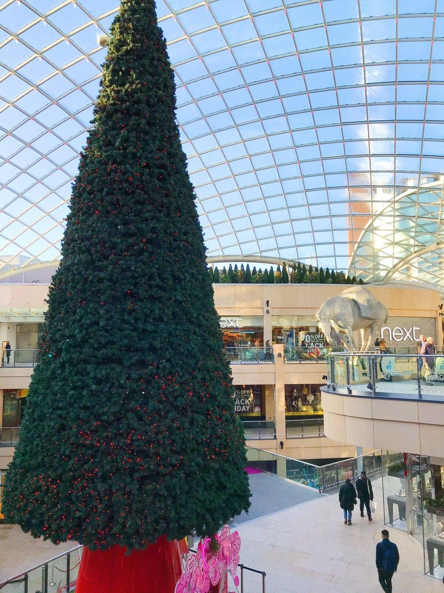 Christmas tree in Trinity Leeds