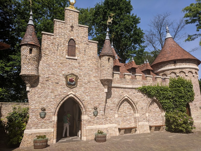 Photos from the Fairytale Forest at Efteling  - Snow White's Castle