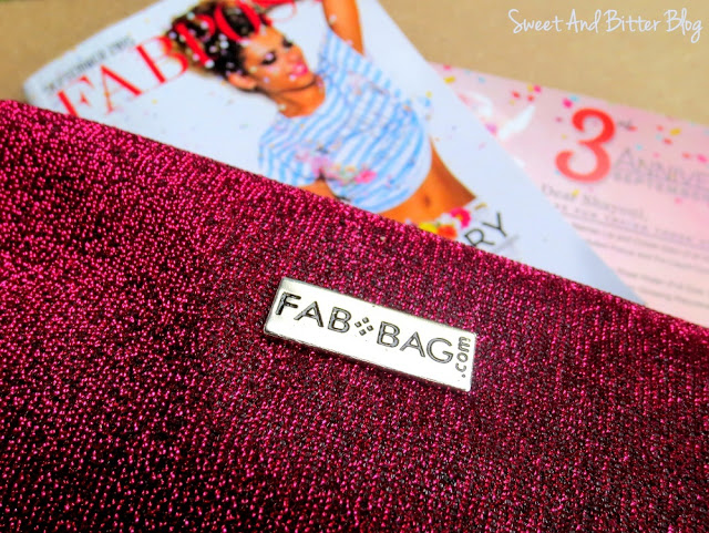 FabBag September 2015 // 3rd Anniversary Special