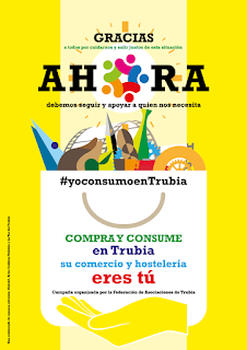 Cartel campaña #yoconsumoenTrubia