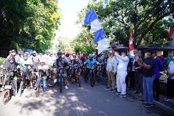 Andi Sudirman Sulaiman Lepas Gowes Bersedekah Fun Bike 2020 di Takalar