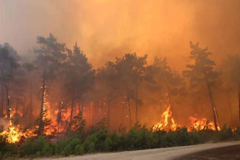 Alevler ortasında kalındığında ne yapılmalı?
