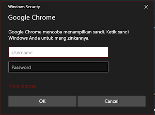 konfirmasi login windows