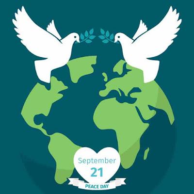tema hari perdamaian dunia 2020 membentuk kedamaian bersama