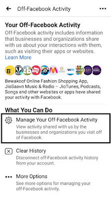How To Clear Data Facebook Collects About You From Other Sites and Apps