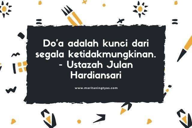 quote doa dari ustazah julan hardiansari