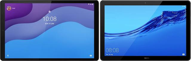 Lenovo Smart Tab M10 HD (2ª Gen) vs Huawei Mediapad T5