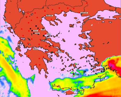 3 - Καιρός 23-26 Απριλίου: Βελτίωση καιρού και άνοδο θερμοκρασίας