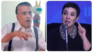 """(بالفيديو) سنية الدهماني:  تدافع عن نبيل القروي. تؤكد ان الوكيل العام في محكمة الاستئناف ماذابيه تونس الكل في الجبس"""""""
