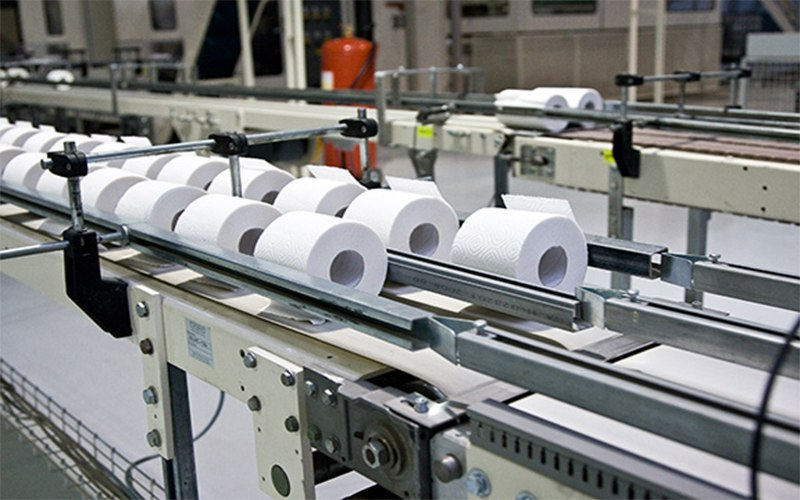 Manufacture of toilet paper