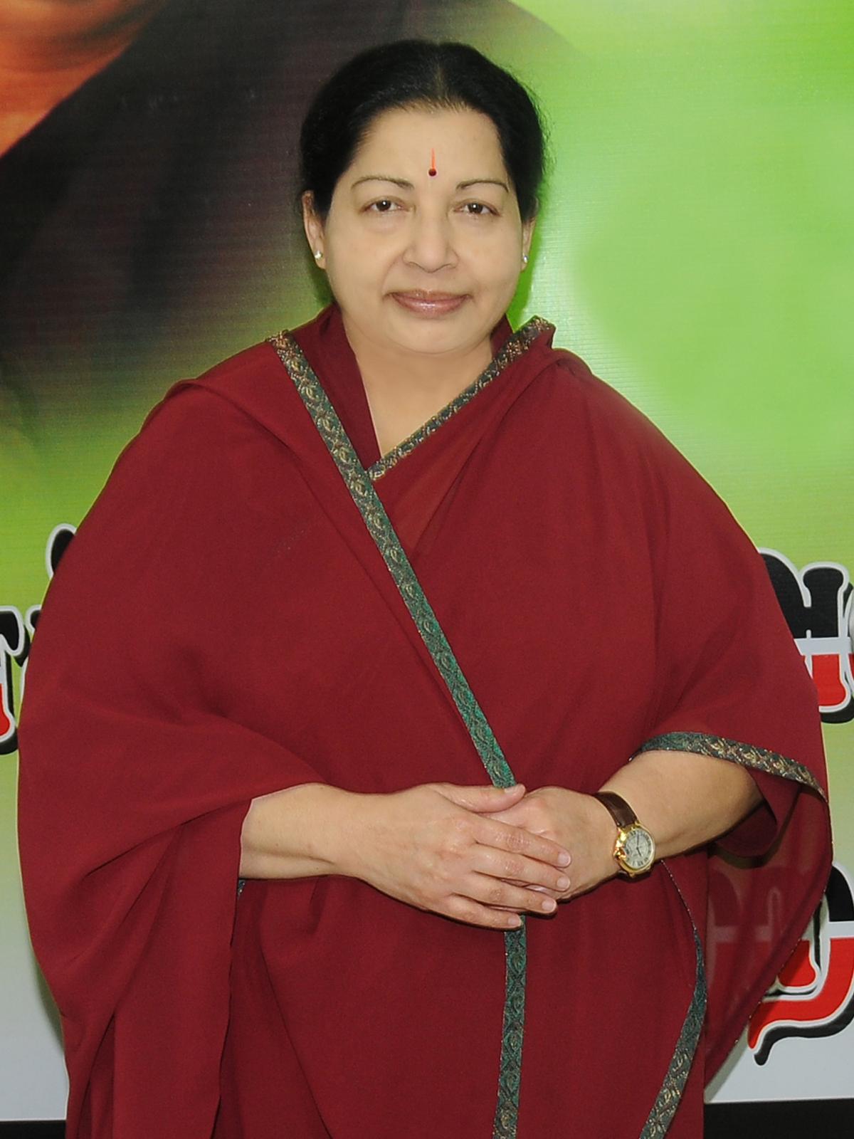 Tamilnadu Chief Minister Selvi Jjayalalitha High Quality -4007