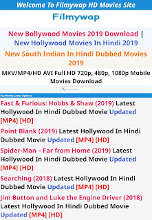 Filmywap 2019 Movies