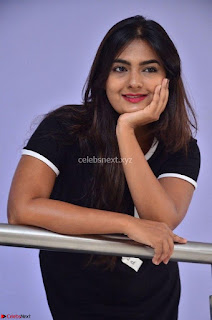 Actress Neha Deshpandey in Black Short Dress ~  Exclusive 011.jpg