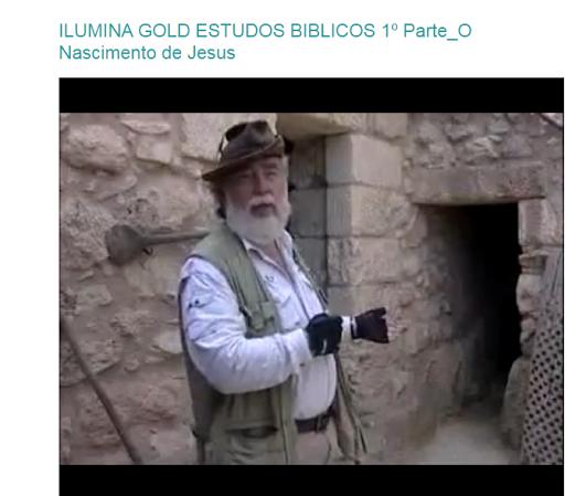 ILUMINA GOLD ESTUDOS BIBLICOS VIDA MORTE RESSURREIÇÃO  DE CRISTO JESUS