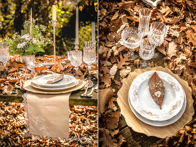 Winter woodland wedding