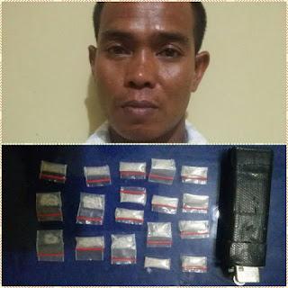 Pengedar Narkoba Ini Akhirnya Diringkus Kepolisian