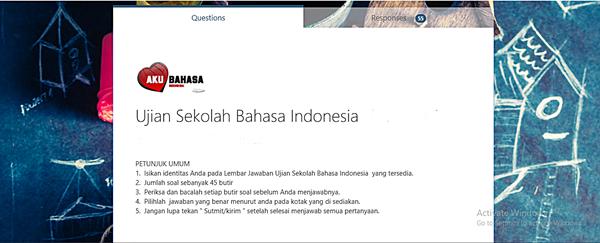 Contoh Soal Ujian Sekolah Bahasa Indonesia SMP
