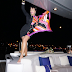 Kris Jenner living it up on a yacht as she enjoys her Italian vacation