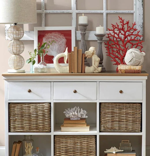 Storage Furniture with Baskets