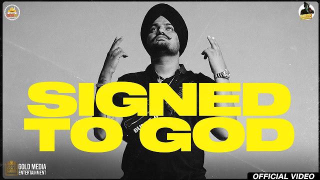 Signed To God Lyrics - Sidhu Moose Wala   Moosetape
