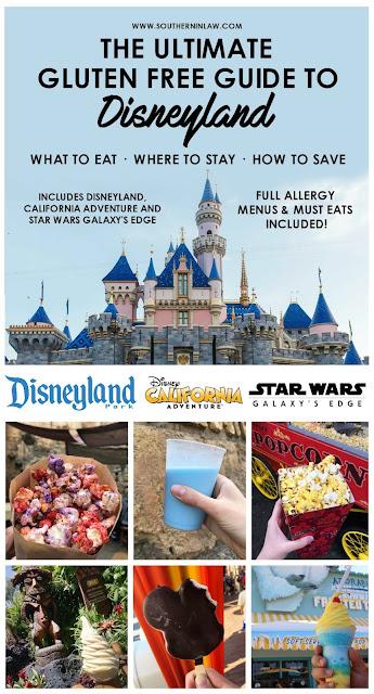 Gluten Free Disneyland Guide
