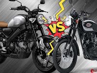 Yamaha XSR155 Vs Kawasaki W175 (Komparasi Spesifikasi, Harga dan Fitur)