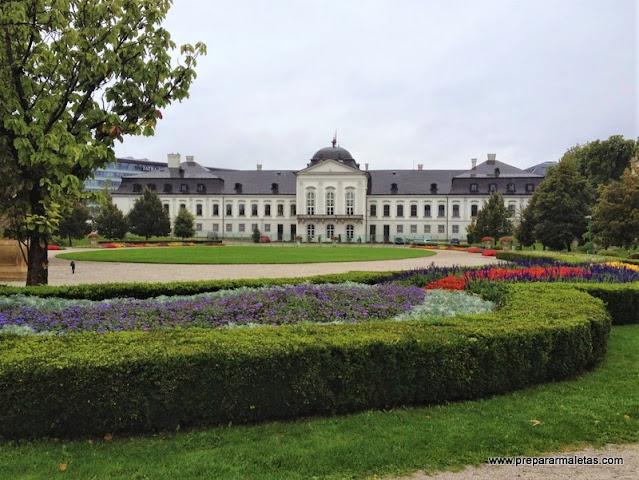 Palacio y jardines presidenciales Bratislava