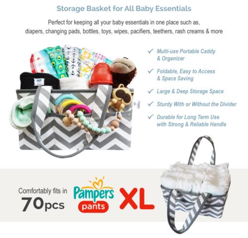 Storage Basket for all Baby Essentials