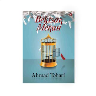 Cover buku novel Bekisar Merah Ahmad Tohari