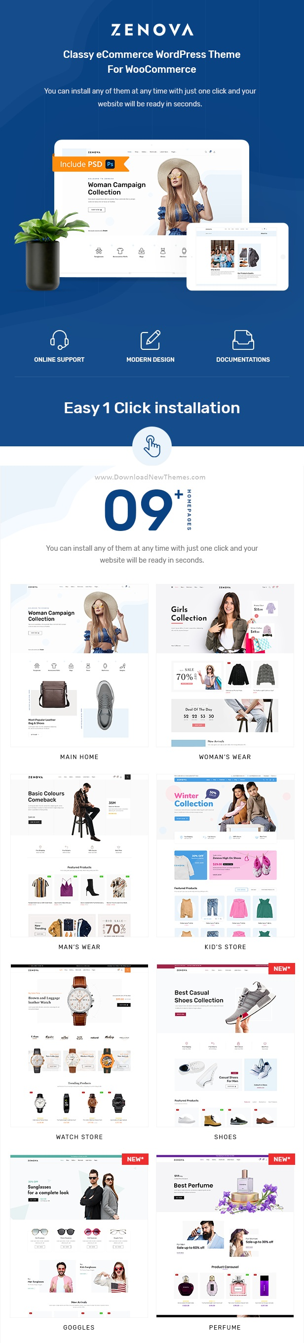 Best Fashion Multi WooCommerce WordPress Theme
