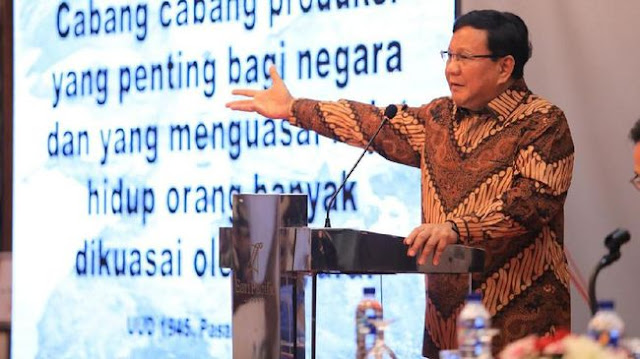 Prabowo: Mata Uang Lemah adalah Cermin Ekonomi Lemah