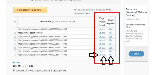 Cara Memperbaiki Broken Link Di Blog dan Website