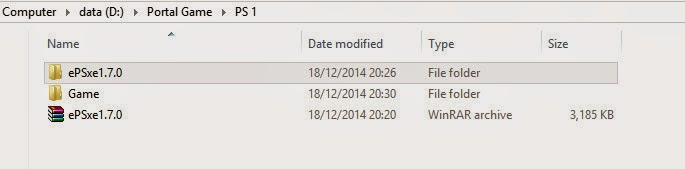 Cara Install Emulator PS 1 Di PC/Laptop